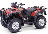 Квадроцикл HONDA TRX-500FA FourTrax Rubicon